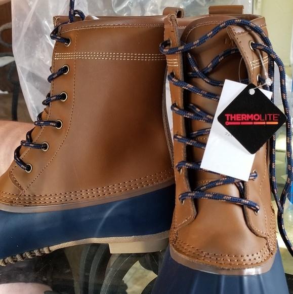 973c13a50b707 Lands End Lined Duck Boot (Hazelnut)l